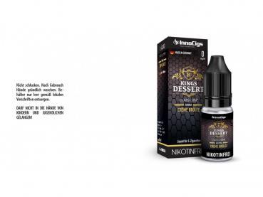Kings Dessert Crème Brûlée Aroma - Liquid für E-Zigaretten